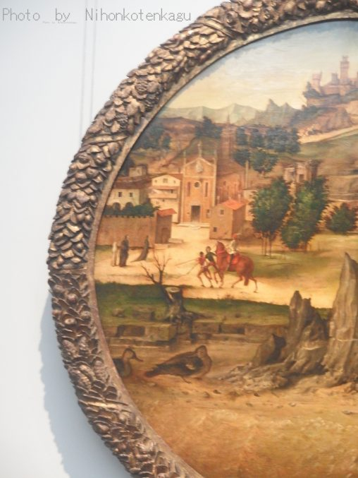 バルトロメオ・モンターニャに帰属「城の見える風景」国立西洋美術館所蔵