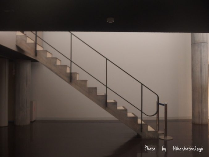 国立西洋美術館 展示場の階段