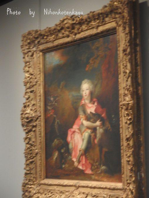 ニコラ・ド・ラルジリエール「幼い貴族の肖像」国立西洋美術館収蔵