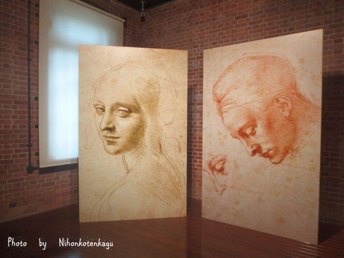 レオナルドダヴィンチ×ミケランジェロ展 三菱一号館美術館