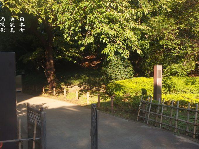東京国立博物館 北庭園 入り口