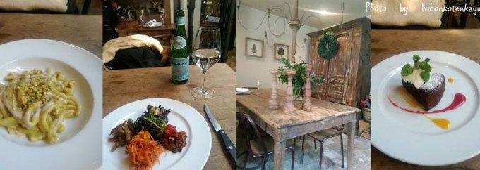 オルトレヴィーノ OLTRVINO コース料理と店内