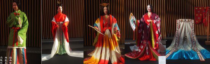 j-culture FEST 宮廷文化・今昔物語展 東京フォーラム 十二単歴史