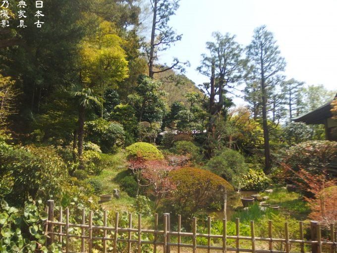 常楽寺 庭園