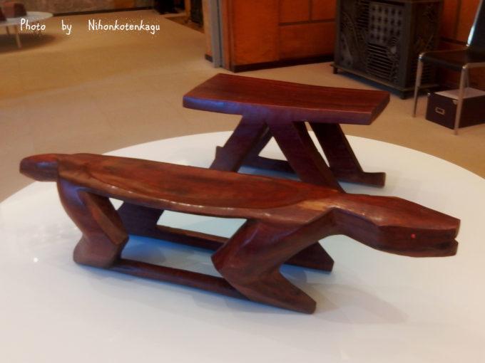 ブラジルの先住民の椅子展 東京都庭園美術館 「ジャガー」「無模様」