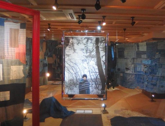 美しいボロ布展 アミューズミュジアム 浅草 2018 ラスト展示を年末に見に行きました。