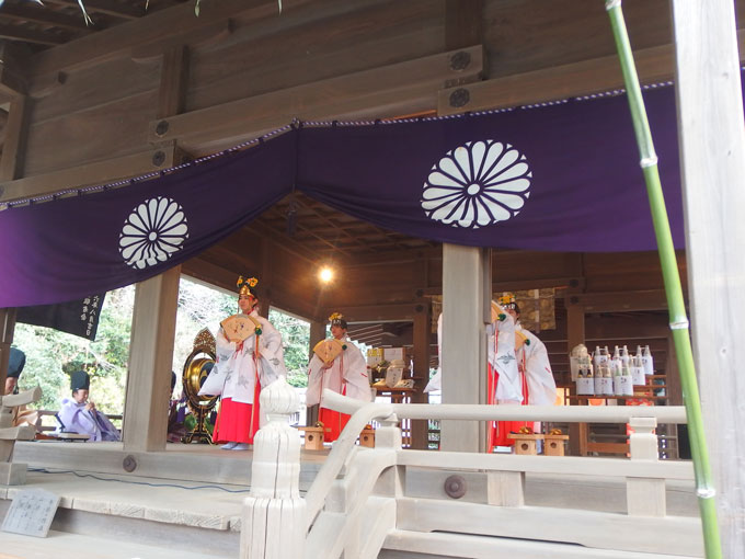 鎌倉宮 御神楽始式 浦安の舞