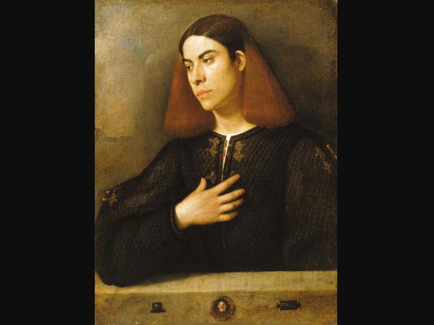 ジョルジョーネ「青年の肖像」