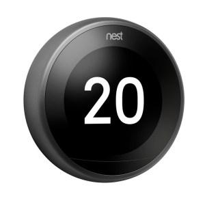 NEST 3. generácia s Opentherm, EU verzia, čierny prstenec