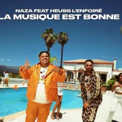 Naza Ft Heuss l'Enfoiré - La Musique Est Bonne lyrics