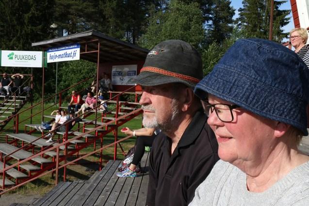 Pekka Ja Vuokko Karhu ovat seuranneet ViU:n vaiheita tarkalla silmällä useita vuosikymmeniä.