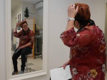 Satu Hirvosen Hiuslinjan puolella on yksi peilipaikka, johon vielä sopisi joku ammattilainen.