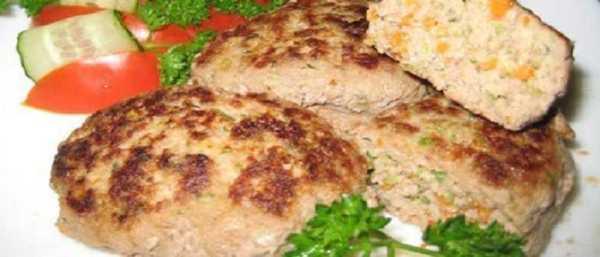 Котлеты с кабачком из говядины в духовке: пошаговый рецепт ...