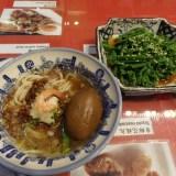 【激旨!】台南の美味しいもの3選・度小月での担仔麺・ポンピンアイス・懐旧小桟の台湾かき氷