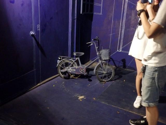 青 自転車