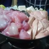 豊田屋、平井。あん肝たっぷりアンコウ鍋に白子鍋!