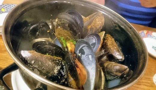 ル ジャングレ。味が選べる山盛りのムール貝は〆も選べて楽しいお店