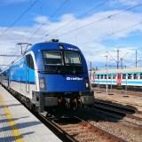 プラハ→ブルノ→ウィーンの鉄道 プラハ・ブルノ・ウィーン旅