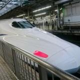 台風が来ているのに新幹線に乗るときにやっておくといい準備