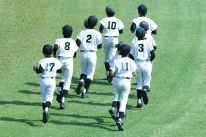 野球少年ランニング