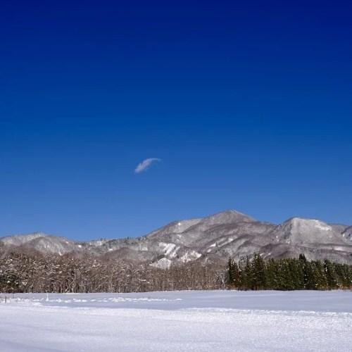 x-t4で撮影の2021年の雪の風景写真