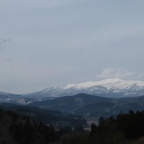 春の栗駒山の写真