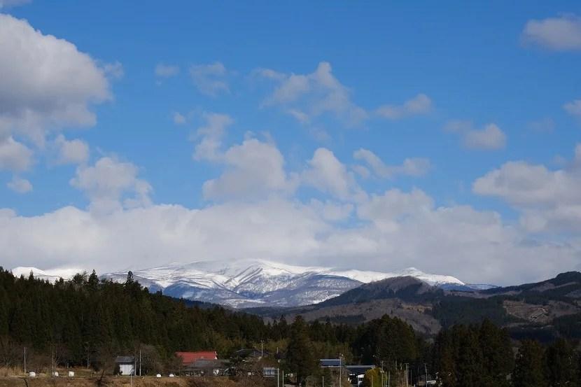 栗駒山の二月の写真