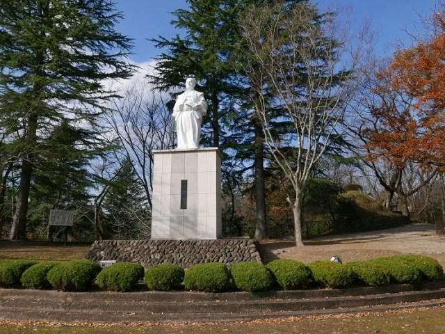 岩出山城址公園の伊達政宗像