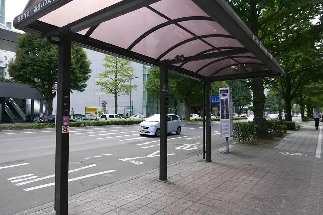 41番東北急行バス乗り場の風景写真
