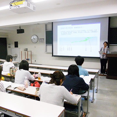 弘前大学での授業風景