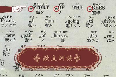 英文訓読のイメージ画像
