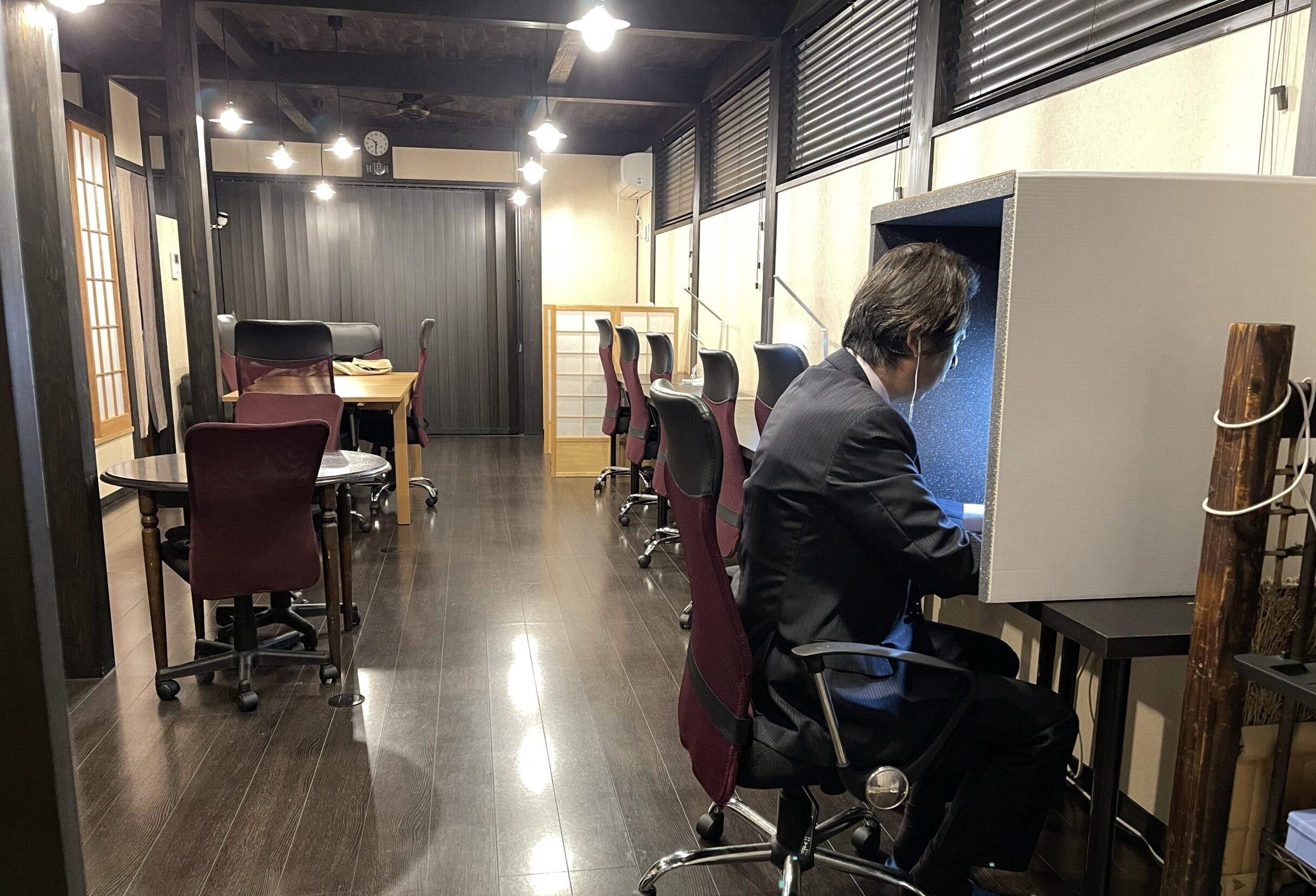 コワーキングスペースことkama.のオンライン会議ブース
