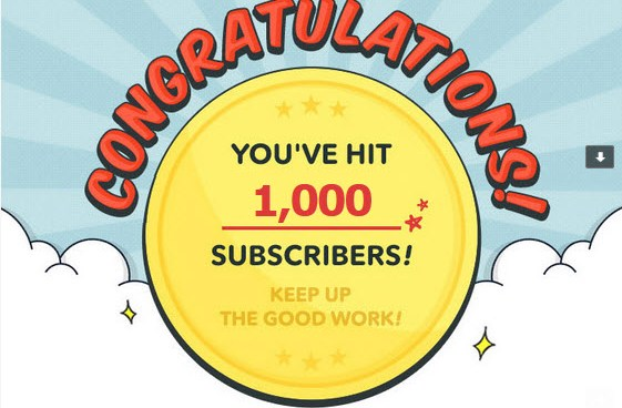1000 subscribers on Webtoon!