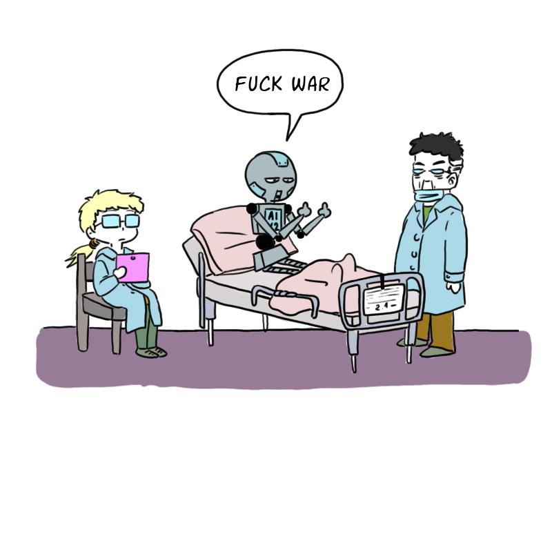 A.I. comics