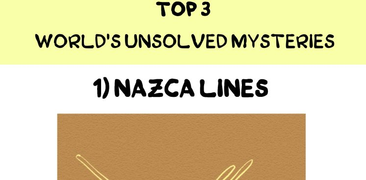 Top 3 world's unsolved mysteries
