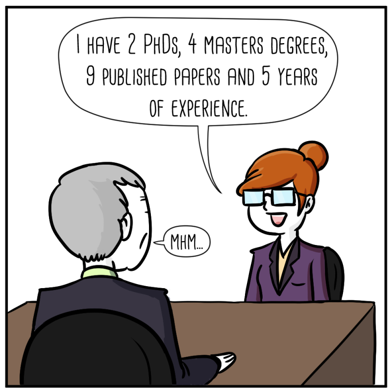 Guest comic: job interview.