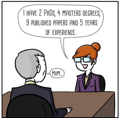 Guest comic: job interview.