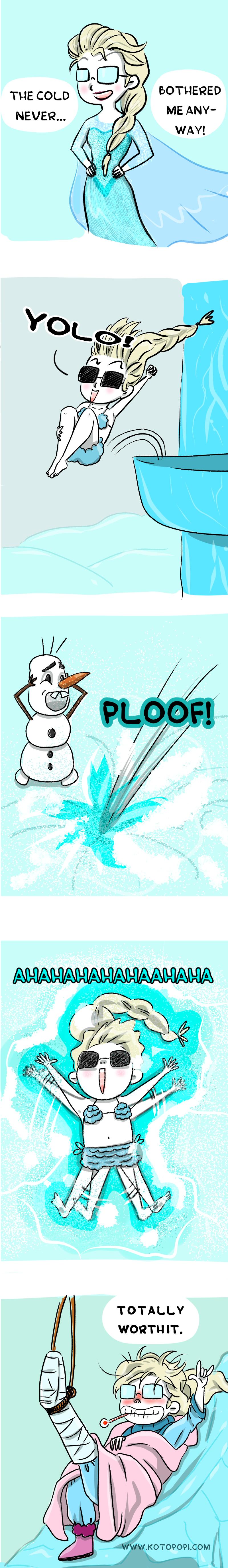 elsa frozen parody disney meme funny
