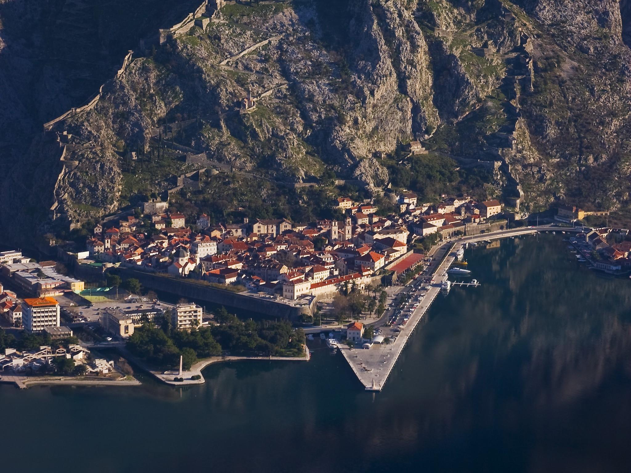Kotor getting around Old town Montenegro