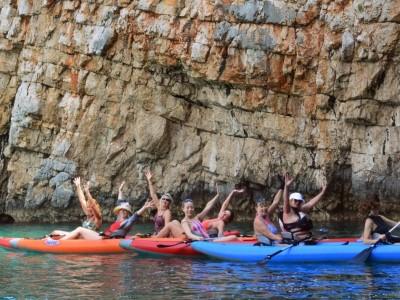 kayaking kotor montenegro