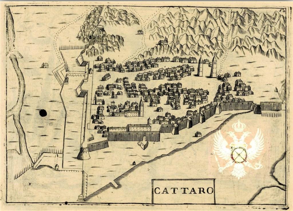 kotor old map