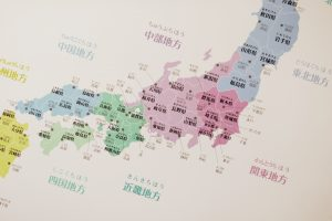 日本地図 おしゃれ