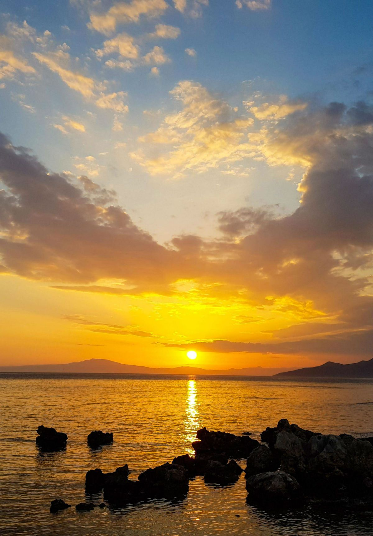 Sunsets in Peloponnese don't miss too many of them