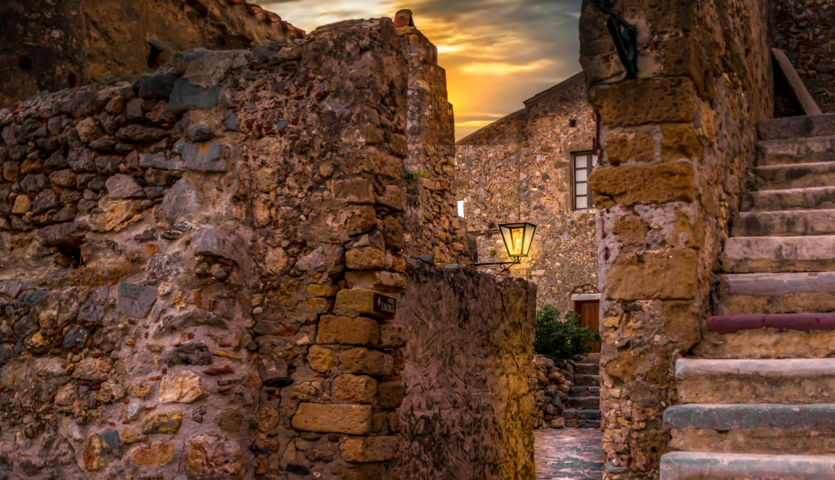 old houses monemvasia photography kotowska