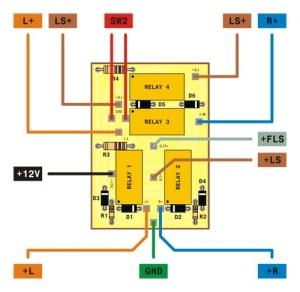 electronica: pemasangan lampu variasi pada motor vario