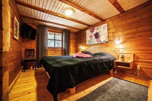 Makuuhuone, 2x90 sängyt