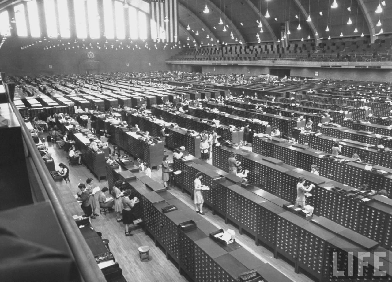 Life 1944 File Room