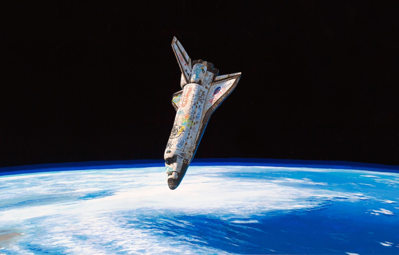 Space Shuttle Graffiti