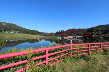 円蔵寺(柳津虚空蔵尊)の美しい写真集「日本晴れとは、このことかな?」(福島県柳津町)