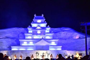 福島県只見町の雪まつりパート2